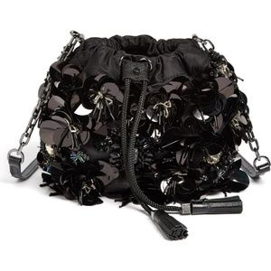 "NWT Tory Burch 'Flower Cluster"" Mini Crossbody Bag"